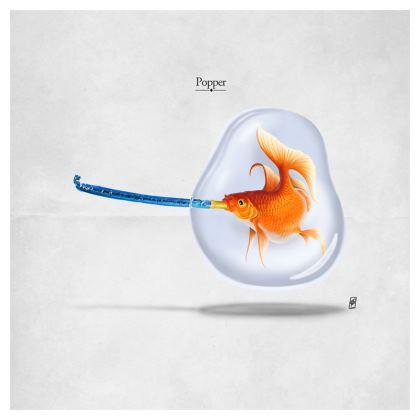 Popper ~ Title Animal Behaviour Cushion