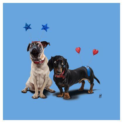 What's the Deely? ~ Colour Animal Behaviour Cushion