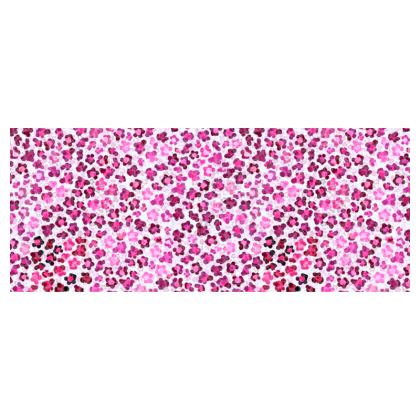 Leopard Skin in Magenta Collection Hard Glasses Case