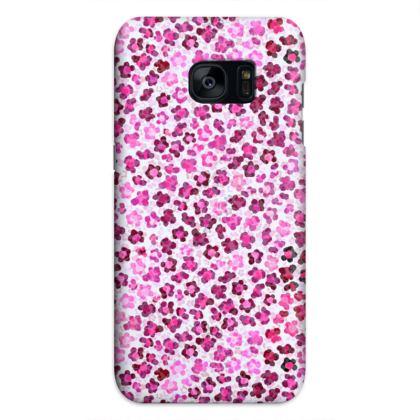 Leopard Skin in Magenta Collection Samsung Cases