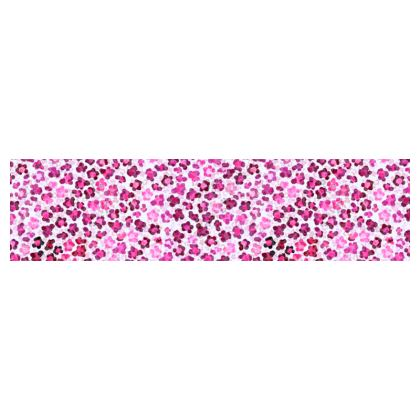 Leopard Skin in Magenta Collection Cup And Saucer