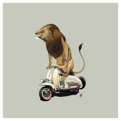 Lamb ~ Colour Animal Behaviour Cushion