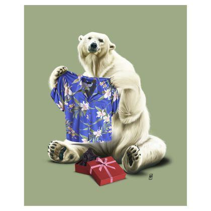 Cool! ~ Colour Animal Behaviour Art Postcard