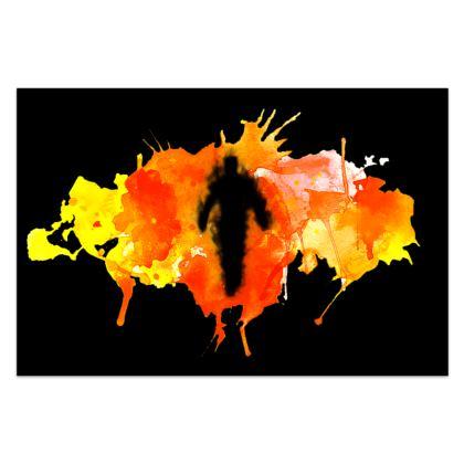 Sarong - Fire Man