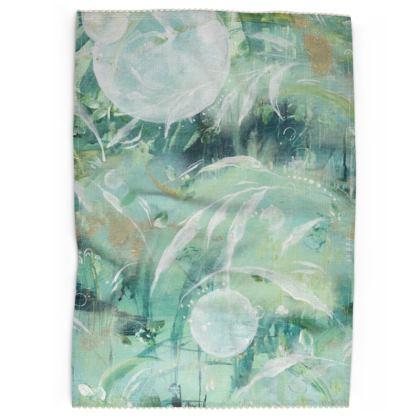 Rainforest Cotton Linen Tea Towel