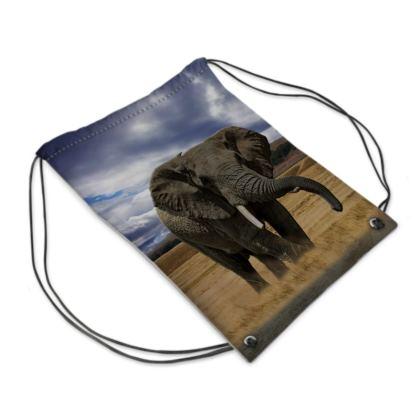 Swim Bag - Savannah Wildlife