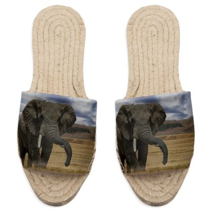 Sandal Espadrilles - Savannah Wildlife