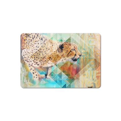 Cheetah Pet Food Mat