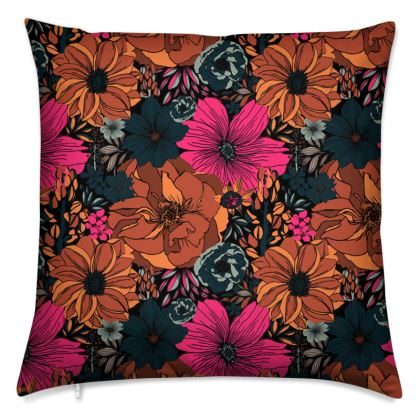 Floral Tropic Cushion