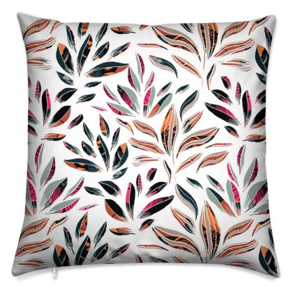 Floral Tropic Petals Cushion