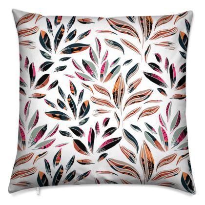 Floral Tropic Petals Cushion