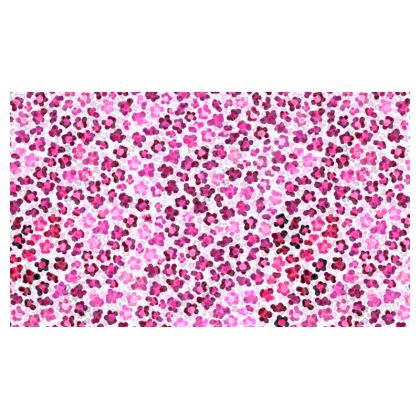 Leopard Skin in Magenta Collection Christmas Stocking