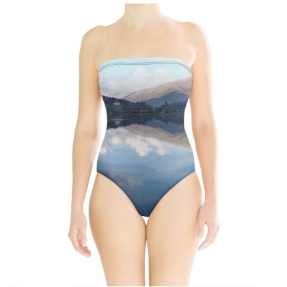 Strapless Swimsuit - Lake District