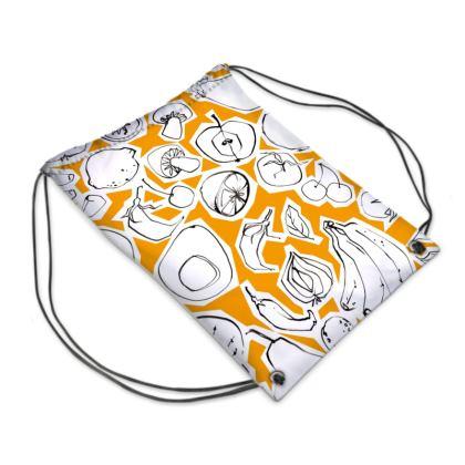 Pea and Tangerine bag