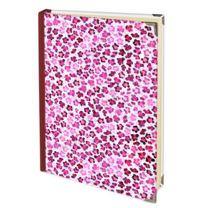Leopard Skin in Magenta Collection Address Book