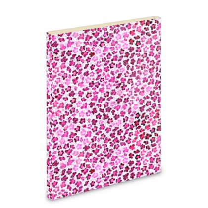 Leopard Skin in Magenta Collection Pocket Note Book
