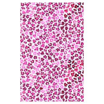 Leopard Skin in Magenta Collection Journals