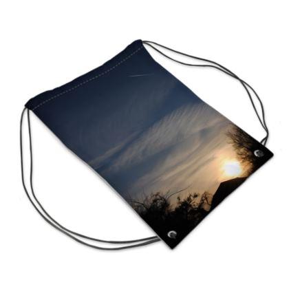 Swim Bag - Low Sunset