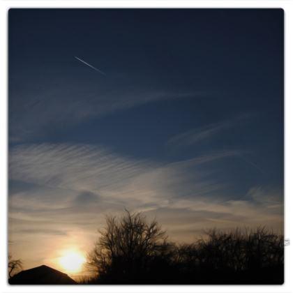 Picnic Blanket - Low Sunset