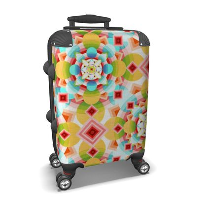Groovy Ombre Suitcase