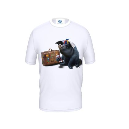 Might ~ Wordless Animal Behaviour Cut and Sew T Shirt