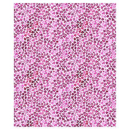 Leopard Skin in Magenta Collection Ladies Bomber Jacket