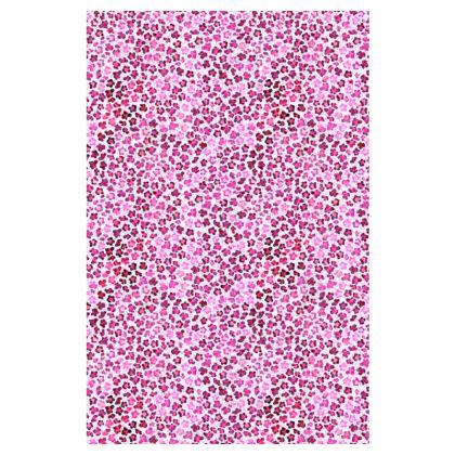 Leopard Skin in Magenta Collection Slip Dress