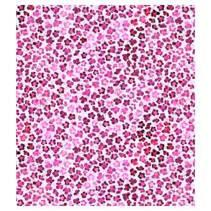 Leopard Skin in Magenta Collection Bucket Hat