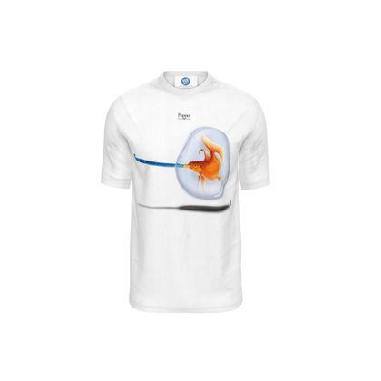 Popper ~ Title Animal Behaviour Cut and Sew T Shirt