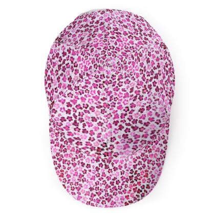 Leopard Skin in Magenta Collection Baseball Cap