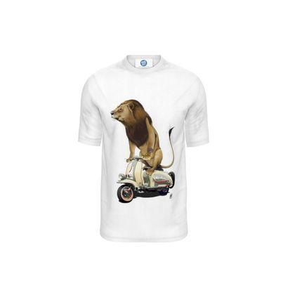Lamb ~ Wordless Animal Behaviour Cut and Sew T Shirt
