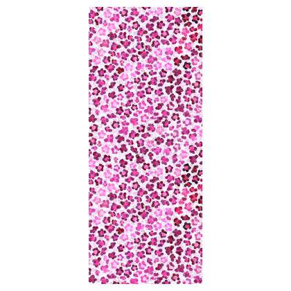 Leopard Skin in Magenta Collection Flip Flops