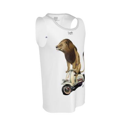 Lamb ~ Title Animal Behaviour Cut and Sew Vest