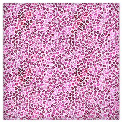 Leopard Skin in Magenta Collection DUVET DE