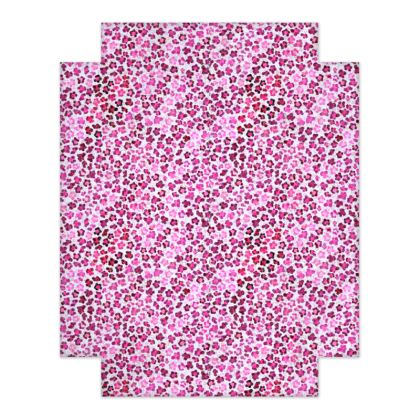 Leopard Skin in Magenta Collection Fitted Sheets