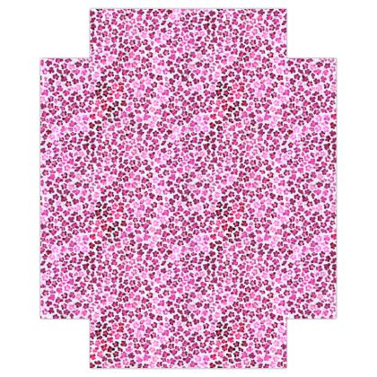 Leopard Skin in Magenta Collection Fitted Sheets USA