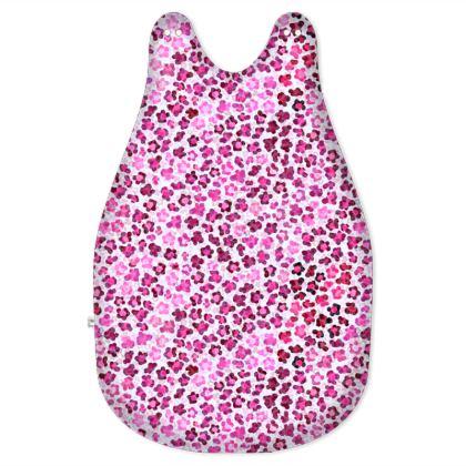 Leopard Skin in Magenta Collection Baby Sleeping Bag