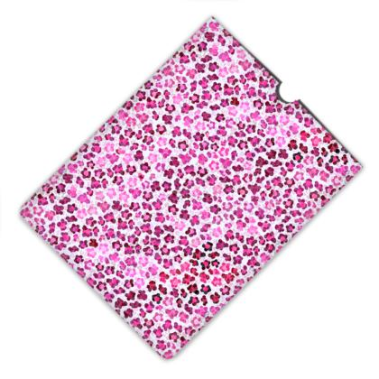 Leopard Skin in Magenta Collection Leather IPad Mini Case