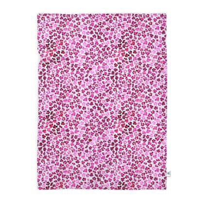 Leopard Skin in Magenta Collection Blanket