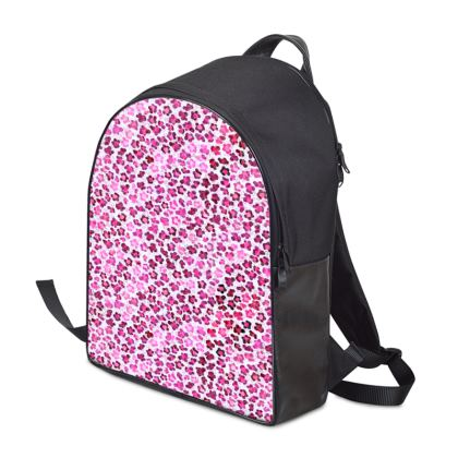 Leopard Skin in Magenta Collection Backpack