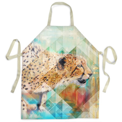 Cheetah Ladies Apron