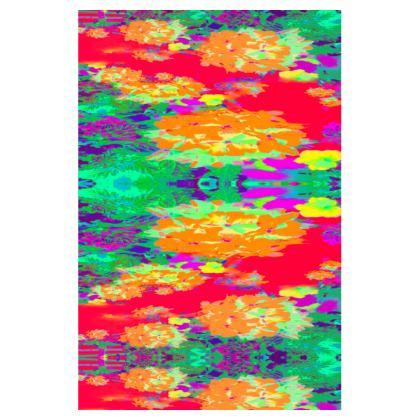 Hydrangea Harmony T-Shirt Dress