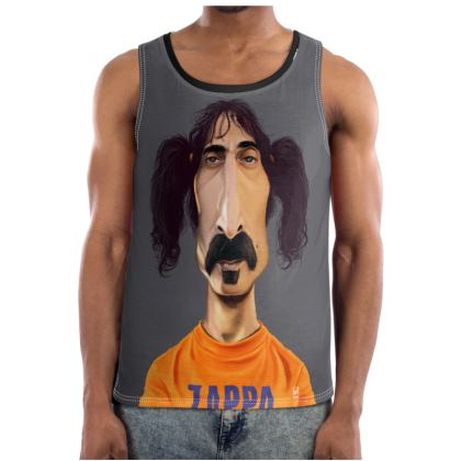 Frank Zappa Celebrity Caricature Cut and Sew Vest