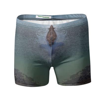 Swimming Trunks - Welsh Ocean