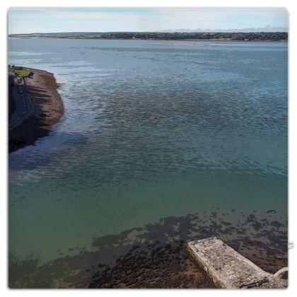 Picnic Blanket - Welsh Ocean