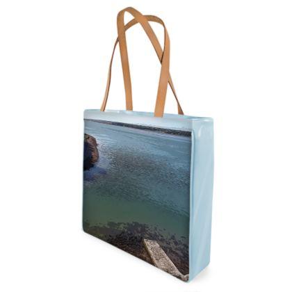 Beach Bag - Welsh Ocean