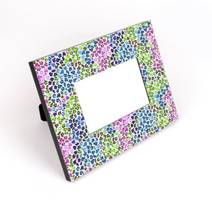 Leopard Skin Multicoloured Collection Cut-Out Frame