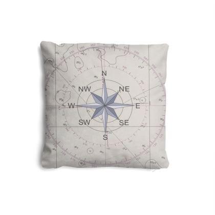 Mini Compass point cushion