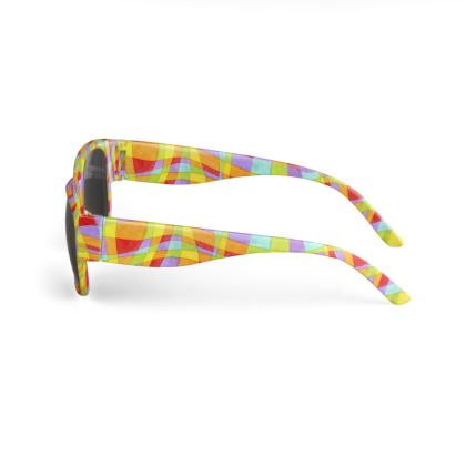 Psychedelic Rainbow Sunglasses