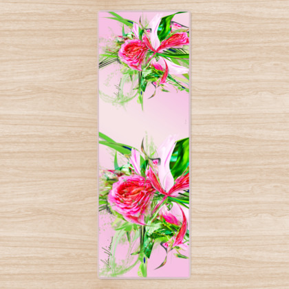 Yoga Mat - Yogamatta - Pastells pink